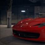 In glänzende Ferraris dürft ihr ebenfalls einsteigen.