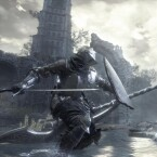 Viel Stahl in Dark Souls 3: Mit Schwert, Schild und Rüstung gegen den Feind.