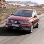 Volkswagen veröffentlicht die zweite Generation des VW Tiguan.