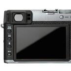 Auf der Rückseite der X100T ist ein drei Zoll großer Bildschirm verbaut, der eine Auflösung von 1,04 Millionen Bildpunkten besitzt.