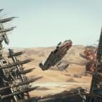 Eine Legende fliegt wieder: der Millennium Falcon.