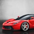 Im italienischen Modena denken Ingenieure auch an umweltbewusste Edelboliden mit Hybridtechnik. Nur 499 Stück gibt es vom LaFerrari, der in unter drei Sekunden von Null auf 100 km/h beschleunigt und eine Endgeschwindigkeit von 300 km/h erreicht. (Bild: Ferrari)