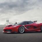Offenbar dürfen nur ausgewählte Ferrarikunden mit dem FXX K eine Testfahrt wagen. (Bild: Ferrari)