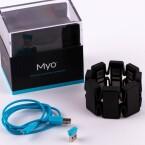 Der Lieferumfang von Myo.