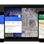 Das neuen Google Maps präsentiert sich im neuen Material Design.