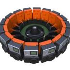 Der GoPro 360°array kombiniert 16 GoPro-Actionkameras.