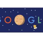 """Google Doodle für die Raumsonde """"New Horizons"""""""