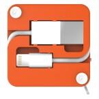 Der K'isauve wahlweise mit microUSB oder Lightning-Anschluss. (Bild: PKparis / Indiegogo)