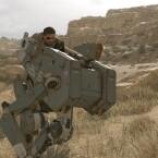 Nein, dies ist kein Pirat in Mechwarrior, das ist Snake in Metal Gear Solid 5.