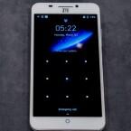 ZTE bietet auf dem Gerät lediglich Android 4.4 als Betriebssystem.