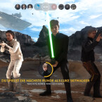 Juchhu. Luke Skywalker ist in Star Wars Battlefront spielbar.