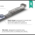Übersichtlich: Die Konstruktion von Plan V. (Bild: Flintu/Kickstarter)