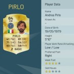 Platz zwei: Andrea Pirlo zirkelt in FIFA 16 gern mal einen Freistoß rein.