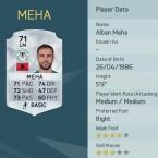 Platz neun: Alban Meha spielt für Konyaspor in der Türkei.