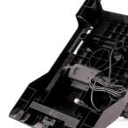 Der Untergrund eines Pedalbodens sollte Mechanismen für ein rutschfestes Spielerlebnis bieten.