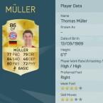 Thomas Müller wird in FIFA 16 als zentraler Stürmer geführt.