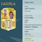 Santi Cazorla ist Teamkamerad von Mesut Özil und Per Mertesacker.