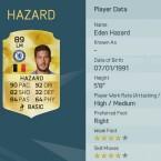 Eden Hazard ist bei Chelsea einer von vielen Stars.