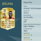 Platz 20: Bruma spielt bei Real Sociedad in Spanien.