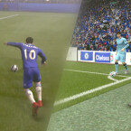 Möglicher Torerfolg: Auch in FIFA 15 solltet ihr Standardsituationen beherrschen. (Bild: EA / Montage netzwelt)
