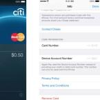 Bei Apple Pay werden bei Geräte- und Kartennummer nur die letzten vier Ziffern angezeigt.