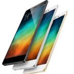 Das Xiaomi Mi Note erscheint in drei Farben: Schwarz, Weiß und Gold.