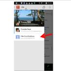 Öffne die Google Plus-App. Falls du mit mehreren Profilen angemeldet bist, klicke eins der Profile an.