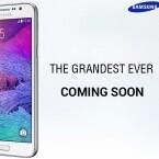 Der mögliche MWC-Debütant Galaxy Grand 3 wird von Samsung in Indien schon beworben.