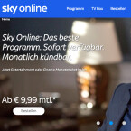 Sky Online heißt der Streaming-Dienst des Pay-TV-Senders Sky.
