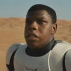 Finn: Das erste Gesicht aus dem Teaser zu Star Wars - The Force Awakens.
