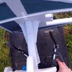 Ein originalgetreues Cockpit bietet der Drohnenaufsatz nicht.