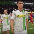 Borussia Mönchengladbach ist bereits in der Demo spielbar.