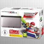 Release am 2. Oktober: In Silber und Schwarz gibt es das Mario Kart 7-3DS XL-Bundle.