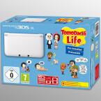 Release am 7. November: Tomodachi Life ist auf diesem weißen 3DS XL vorinstalliert.
