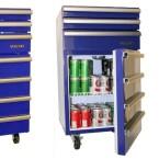 Dieser Mix aus Werkzeugschrank und Kühlschrank kostet 400 US-Dollar, also etwa 320 Euro. (Bild: gadgets4guys)