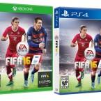 Das kanadische Cover von FIFA 16. Sinclair ist mit dabei.