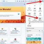 """Im Mozilla Webbrowser ruft ihr das Menü über die drei waagerechten Striche am rechten Rand auf und wählt anschließend den Punkt """"Add-ons"""" aus."""