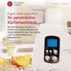 Mit Monsieur Cuisine hat auch Discounter Lidl eine eigene Küchenmaschine auf dem Markt. Bei dem günstigen Preis von 200 Euro muss man auf ein paar Funktion und Extras verzichten. Derzeit ist die Maschine ausverkauft.
