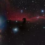 """Young Astronomy Photographer of the Year"": Die 15-jährigen Shishir und Shashank Dholakia mit dem Foto ""The Horsehead Nebula (IC 434). (Bild: Shishir und Shashank Dholakia)"