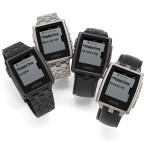 Die Smartwatch Pebble wurde über Kickstarter realisiert. Sie arbeitet mit Android und iOS zusammen.