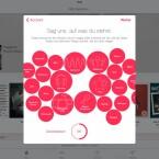 Über den eigenen Musik-Account kann man der App beibringen, was einem gefällt.