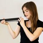 Nicht groß und offenbar flexibel einsetzbar, auch als Violine.