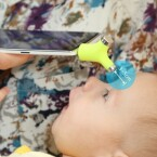 Kleinkinder müssen beim Wishbone nicht so lange still halten.