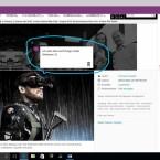 Webseitennotiz: Nutzer von Microsoft Edge können wichtige Aussagen auf Webseiten markieren oder nach Lust und Laune malen.