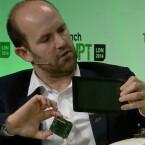 Auf der Disrupt in London wurde der erste Touchscreen für den Raspberry PI vorgestellt.