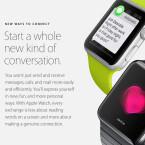 Die Apple Watch bietet neue Wege, mit Kontakten in Verbindung zu treten.