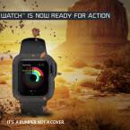 Bumper ist eine über die Crowdfunding-Plattform Indiegogo erfolgreich finanziertes Apple Watch-Hülle für raue Umgebungen.