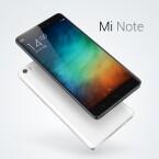 Das 5,7 Zoll große Xiaomi Mi Note soll in Konkurrenz zum iPhone 6 Plus treten.