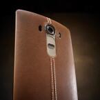 Das LG G4 bietet nicht nur ein Ledercover, sondern auch eine überarbeitete 16-Megapixel-Kamera.