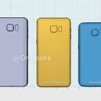Das Note 5 (links) und das S6 Edge Plus (Mitte) sind gleich groß.